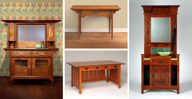 Free English Arts Crafts Furniture With Nancy Hiller