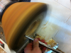 hollowing-of-a-natural-edge-green-fresh-wet-wood-bowl