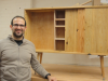 david-with-his-storm-salvaged-maple-credenza